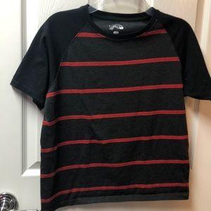 Fission dark gray, red stripes & black sleeve